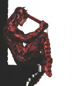Daredevil from marvel comic book