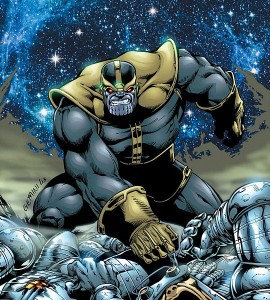 Marvel Comic Book Character Thanos on Comic Book Haven
