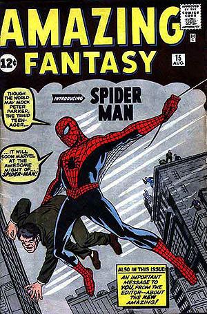 amazing fantasy 15, spider-man