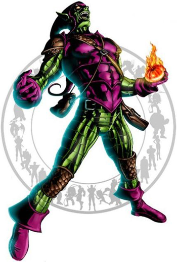 TOP 10 MARVEL UNIVERSE VILLAINS green goblin, spider-man, marvel