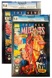 comic books for investment, New Mutants 98, deadpool, CGC