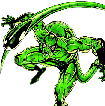 TOP 10 MARVEL UNIVERSE VILLAINS scorpion, marvel villains, spider-man