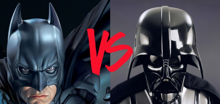 Batman Versus Darth Vader?!?