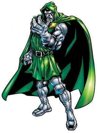 TOP 10 MARVEL UNIVERSE VILLAINS Fantastic Four, Dr. Doom, Marvel Villains