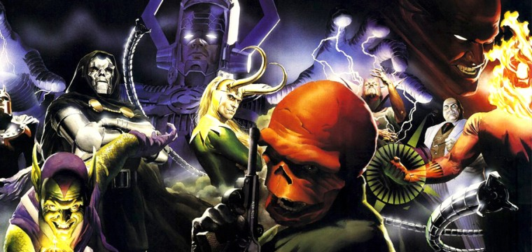 TOP 10 MARVEL UNIVERSE VILLAINS