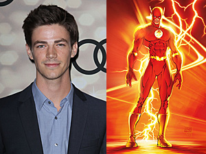 the flash, grant gustin, dc comics