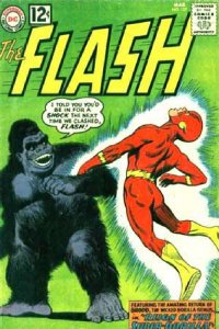 flash, grod, dc comics