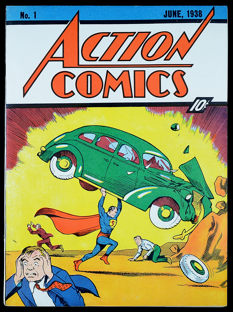 action comics 1, superman