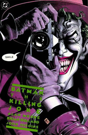 Alan moore, the killing joke, joker, dc comics