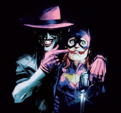 Batgirl #41, Variant Cover, dc comics, joker